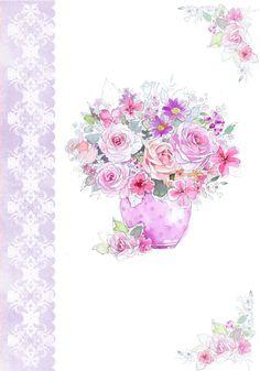 Harrison Ripley - Vase Of Roses- Mixed Flowers.jpg