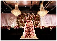 REAL WEDDING: DONIA AND GEORGE | Wedded WonderlandEnvy this cake! It is stunning!