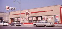 A & P in Wayne, Michigan, 1960's