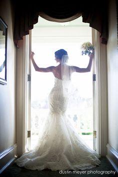 bride alone poses 3