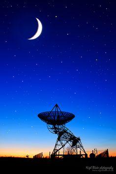 Mullard Radio Astronomy Observatory antenna