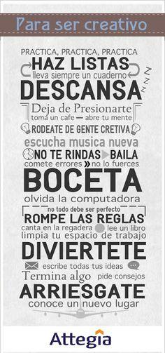 Andrés Castillo : Estrategia e Innovación: Infografía - Para ser creativo