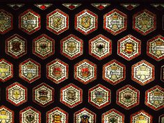 On a tour of Ottawa Parliament House there are scores of architectural details to discover, like this ornate stained-glass ceiling.