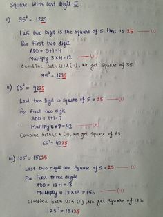 What is Mental Math? Well, answer is quite simple, mental math is nothing but simple calculations done in your head, that is, mentally. Math Tutor, Maths Algebra, Teaching Math, Calculus, Math For Kids, Fun Math, Math Math, Math Teacher, Multiplication