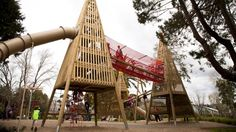 Tui Glen boasts one of Auckland's best playgrounds with a treetop theme and a range of innovative structures. Tui Glen playground 2014. From 1925 Tui Glen Motor Camping Park offered various amusements including swimming, boating, tennis, carpet bowls, donkey rides, a maypole, fairy grotto and separate Sports Grounds for large picnics. A skating rink operated in the 1960s.