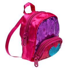 Fuchsia Sequin Backpack - Build-A-Bear Workshop US
