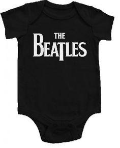 The Beatles Baby Grow Eternal Black