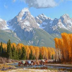 Jimmy Dyer :: Astoria Fine Art Gallery in Jackson Hole