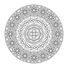 mandala coloring pages advanced-level - Bing Images