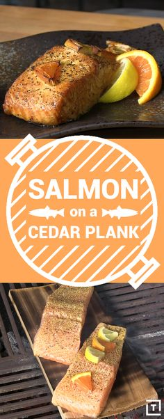 The problem with grilling any kind of fish is that the flesh is so delicate that it often sticks to the grates. That's why Ballistic BBQ cooks their salmon on cedar planks -- the filet cooks up evenly with a smoky flavor, and the grill stays clean. Serious grill masters swear by them!