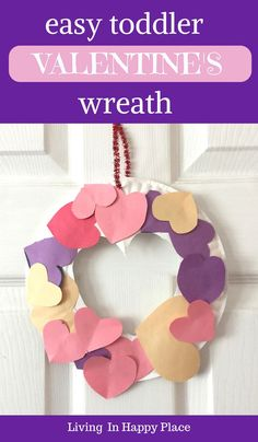 Valentine's Day craft for kids, preschoolers, toddlers, or even Kindergarten kids! This DIY Valentines Day activity is easy to make and perfect for school or classroom.#ValentinesDay#ValentinesDayCraft#craftsforkids#ValentinesDayCraftsforkids