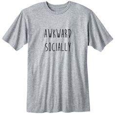 Awkward Socially Fangirl Shirt Fashion Band T-Shirt Fan Girl Shirt... (20 CAD) ❤ liked on Polyvore featuring tops, t-shirts, black, women's clothing, sheer t shirt, black t shirt, long sleeve tops, collared shirt and unisex t shirts