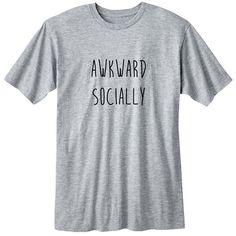 Awkward Socially Fangirl Shirt Fashion Band T-Shirt Fan Girl Shirt... (20 CAD) ❤ liked on Polyvore featuring tops, t-shirts, black, women's clothing, sheer t shirt, black t shirt, long sleeve tops, collared shirt and unisex t shirts
