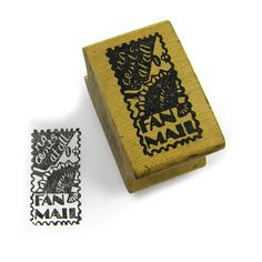 A personal favorite from my Etsy shop https://www.etsy.com/listing/556831667/vintage-rubber-stamp-faux-postage-stamp