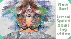 The X Factor UK 2014 - Fleur East - Speed Painting Video
