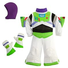 Buzz Lightyear Costume for toddler, mom as jessie, dad as woody! This may be the one!