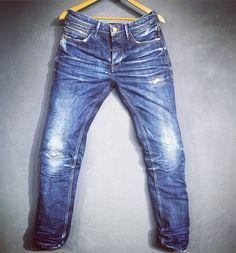 Desert Studio: Vintage look denim #Denim #Selvedge #Jeans