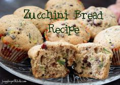 This is the best zucchini bread I've ever tasted!  My kids helped me bake this delicious recipe, and even I had to stop them from having a third serving. #recipe #zucchini #bread