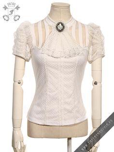 Melisandre white blouse