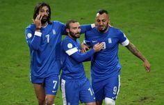 Samaras + Salpingidis + Mitroglou.