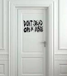 Mort à l'intérieur de la Walking Dead Wall Decal-(20 « X 10 ») par ValueVinylArt sur Etsy https://www.etsy.com/fr/listing/163347153/mort-a-linterieur-de-la-walking-dead