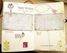 Sketchbook Journal - April  #artjournal