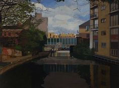 By James Mackinnon. Regents Canal, Broadway, Fine Art, Contemporary, Artist, Painting, Painting Art, Paintings, Visual Arts