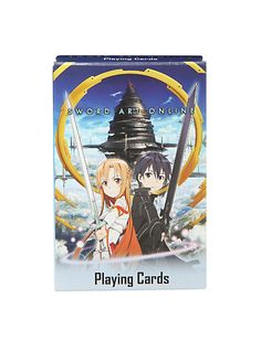 Sword Art Online Playing Cards | Hot Topic