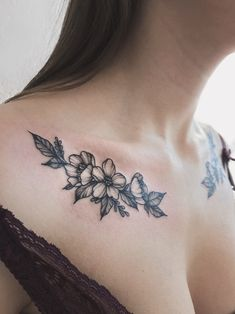 Cool Chest Tattoos, Up Tattoos, Flower Tattoos, Body Art Tattoos, Girl Tattoos, Small Tattoos, Collar Bone Tattoos, Celtic Tattoos, Sleeve Tattoos