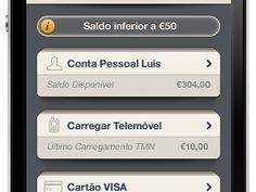 Bank App for iPhone