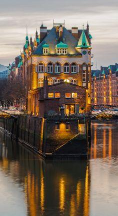 Hamburg Foto Poggenmühle Speicherstadt | Bildschönes Hamburg