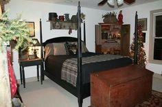 primitive bedroom on pinterest primitive bedroom primitives and