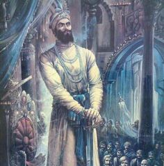 Beautiful portrait of Guru Gobind Singh Ji