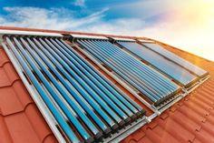 Solarthermieanlage glänzt mit hohen Wirkungsgraden