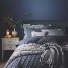 Blue and gray bedroom ideas, pictures, remodel and decor (2)
