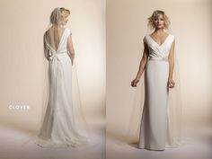 """Amy Kuschel """"Clover"""" gown - 2013 collection"""