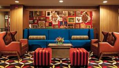 Hotel Lincoln: The hotel has a laidback vibe and public spaces made for locals (restaurant, coffee shop, bar).