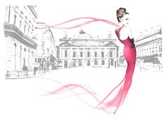 Christian David Moore, Fashion Illustrator, Advertising, Publishing, Editorial
