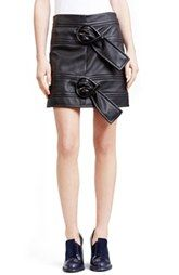 J.W.ANDERSON Double Buckle Nappa Leather Skirt