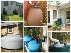 Aproveitamento de água da chuva, para uso não potável é uma maneira sustentável de usar a água da chuva para limpar quintal, lavar carro e regar o jardim.