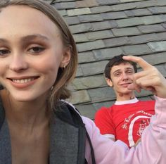 @benlross reminiscing on better times | Lily Rose Depp