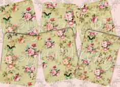 Instant Download   Shabby Chic No 7   labels by CountryAtHeart2008