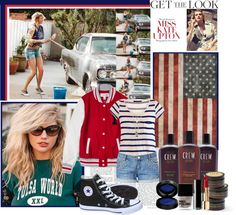 """""""Kate Upton does casual beauty."""" by mother-hen115 ❤ liked on Polyvore"""