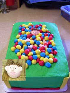 Ballpit Birthday Cake