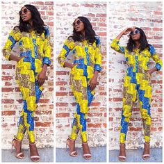 71581f64350 Join in the trend and have yourself looking beautiful in various Ankara  styles.