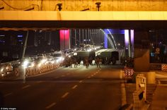 Troops have established checkpoints across strategic locations in cities around Turkey and have imposed martial law
