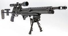 Evanix Tactical Sniper PCP  Air Rifle:  6rds/.45 Mags - Sidelever Charging - Adjustable buttstock - Ambidextrous stock - Adjustable Riser - Flash hider - Built-in Manometer - 2-Stage 4-7Lbs adjustable trigger  - Weaver optics rail - Weaver accessory rail with removable grip - 300cc 3000 psi fill air tank. - Shots per Fill: 12 (6-8 Hunting)
