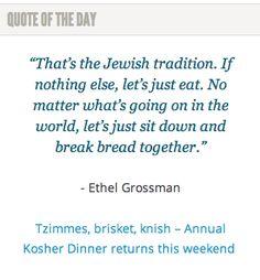 On the Kosher Dinner: http://spokanefavs.com/2014/03/04/tzimmes-brisket-knish-annual-kosher-dinner-returns-weekend/