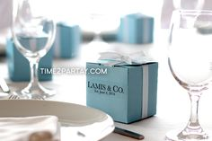 Tiffany's Bridal/Wedding Shower Party Ideas | Photo 9 of 22 | Catch My Party