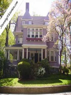 Fun colors. Google Image Result for http://www.antique-houses.com/images/128_1.jpg